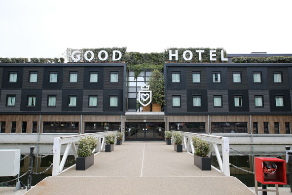 The Good Hotel : Good hotel london premium hospitality with a cause future positive