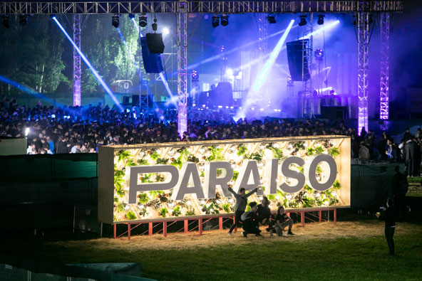 Art meets electronic music at Paraíso Festival in Madrid